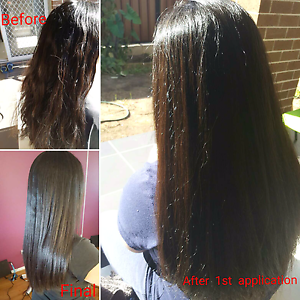 Japanese  hair straightening Quakers Hill Blacktown Area Preview