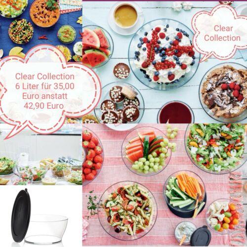 Kuchen Party Salatbuffet TUPPERWARE Rührschüssel 6,0 L xxl Pengschüssel Salat