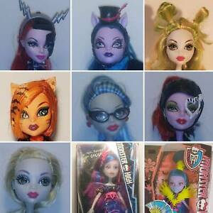 Monster High Dolls MIB, Loose Complete, Near Complete from $6