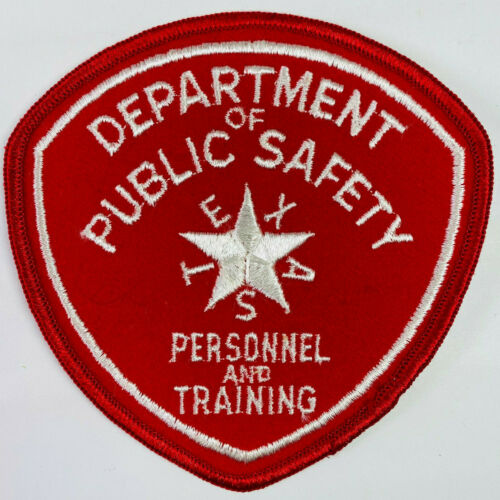 Personnel And Training Texas Department Of Public Safety TX DPS Patch A1