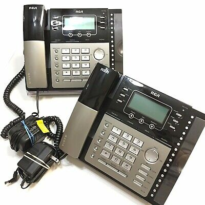 Rca Visys 25425re1 4-line 2 Corded Expandable Speakerphones Dig Answering System