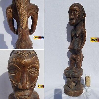 FIRST-RATE Batabwa Tabwa Taabwa Figure Sculpture Statue Mask Tribal African Art