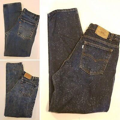 Vintage Levi's Blue Jeans (Lot of 3) Late 1980's 31 Waist Straight Leg Zipper