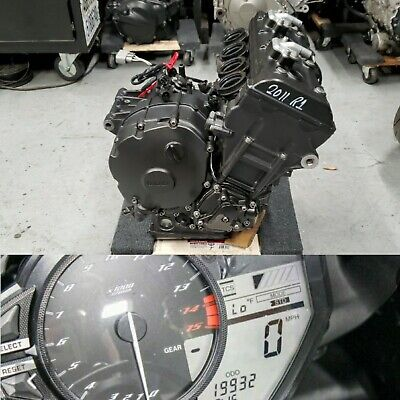 09 14 YAMAHA R1 YZF MOTOR ENGINE RUNS EXCELLENT TRANS 2011 2012 2009 2010 13 12