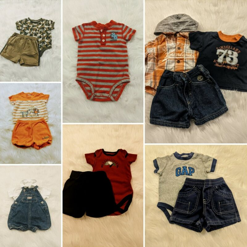 Baby Boy Size 0/3 Months Summer Clothing Lot