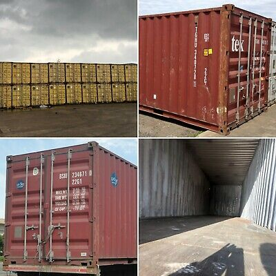 20ft 40ft Used Wind Watertight Shipping Containers Cleveland Best Price