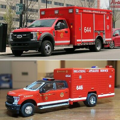 1:64 Kitbash Code 3 Chicago Fire Department
