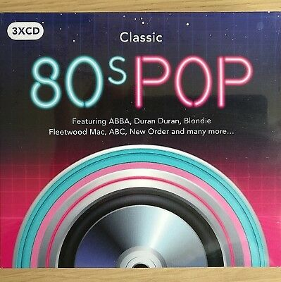 3CD NEW - CLASSIC 80's POP - Music 3x CD Album Abba ABC Duran Blondie A-Ha B-52s