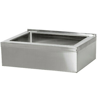 25 Stainless Steel 20 X 16 6 Floor Mop Bucket Sink Commercial Utility Drain