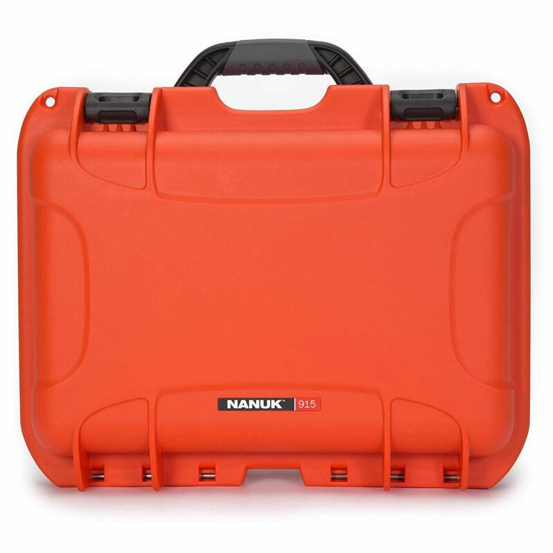 Nanuk 915-1003 Impact Resistant Waterproof Hard Case, Orange, Cubed Foam