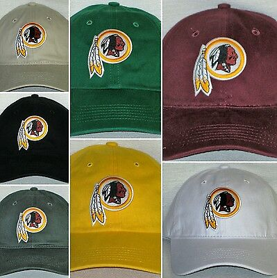Washington Redskins Polo Style Cap ✨Hat ✨CLASSIC NFL PATCH/LOGO ✨7 Colors ✨NEW - Redskins Colors