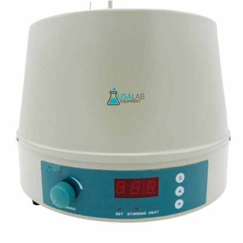 USA Lab 2L 300°C 1200 RPM Digital Magnetic Heating Mantle