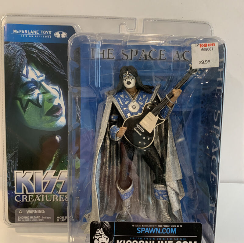 """KISS Creatures The Space Ace Ace Frehley 2002 McFarlane Toys Action Figure """"NEW"""""""