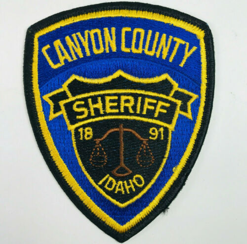 Canyon County Sheriff Idaho Patch