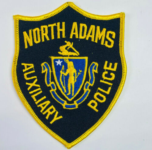 North Adams Auxiliary Police Berkshire County Massachusetts MA Patch (B4)