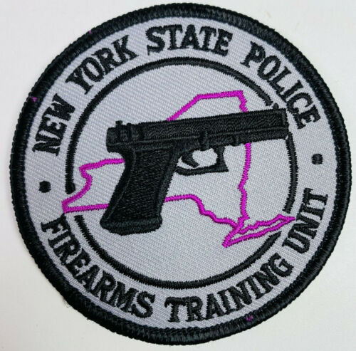 New York State Police Firearms Training Unit NY Trooper Patch (A6)