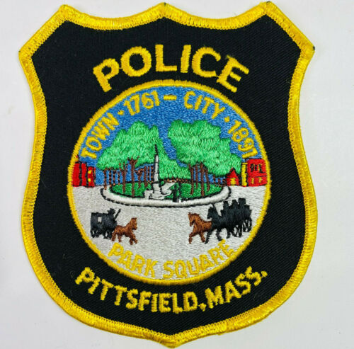 Pittsfield Police Berkshire County Massachusetts MA Patch A7D