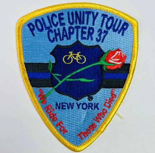 Police Unity Tour Chapter 37 New York NY Patch (A5)