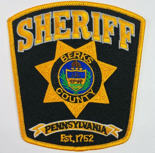 Berks County Sheriff Pennsylvania PA Patch (A6)