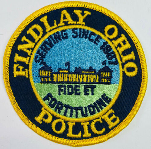 Findlay Police Ohio OH Patch (A5)