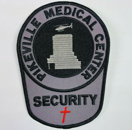 Pikeville Medical Center Security Kentucky Subdued Helicopter Hospital Patch A4
