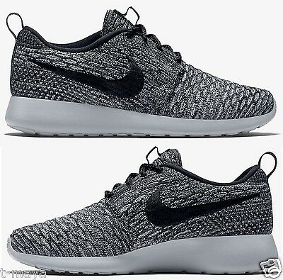 the best attitude 97e8d 1e71a Womens NIKE ROSHE ONE FLYKNIT sz 8 Athletic Shoes Summer Run 704927 305 NIKE  ROSHE ONE FLYKNIT CASUAL WOMEN s M RUNNING MESH COOL GREY - Buy ...