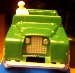 LAND-ROVER-1956-Rover-Lesney-Matchbox-1993-re-issue-MIP-Land-Rover-Rover-Pick-up