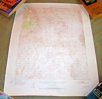 1951 Topographic Map Coso Peak California Naval Reservation N3600-W11730/15