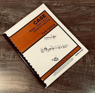 Case 310d Utility Crawler Tractor Dozer Loader Parts Manual Catalog Bulldozer