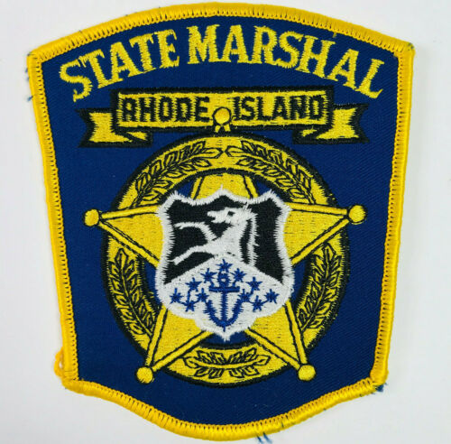 Rhode Island State Marshal Patch