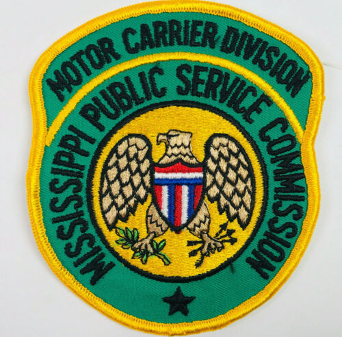Mississippi Public Service Commission Motor Carrier Division Patch