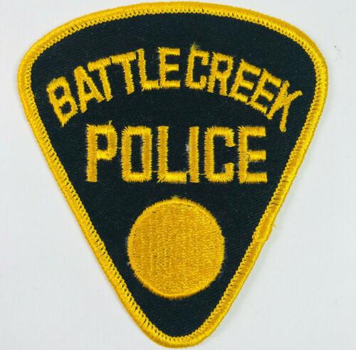 Battle Creek Police Calhoun County Michigan Patch