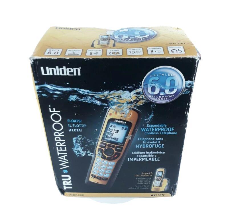 Uniden Tru Waterproof Cordless Phone WXI3077 Submersible Dect 6.0