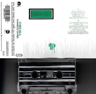 CHRIS REA - Shamrock Diaries 📼 MC Musikkassette, eastWest