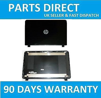 "NEW HP-Compaq 15-G094SA 15.6""  LCD SCREEN TOP LID BLACK MATTE BACK COVER"
