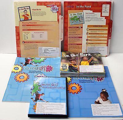 Gear Up,Ell Fluency Kit: Grade K-1 Guided Reading,ELL Lesson Plans,DVD,Books (2) Guided Reading Lesson Plans