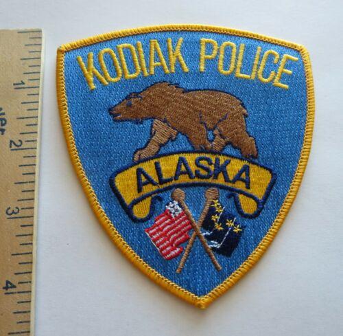 KODIAK POLICE ALASKA PATCH Vintage Original