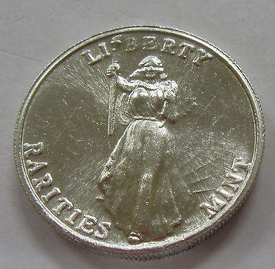 Rare Liberty Rarities Mint 1 Ounce  999 Fine Silver Art Round
