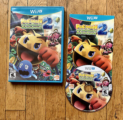 PAC-MAN AND THE GHOSTLY ADVENTURES 2 (NINTENDO WII U) PLAYED ONCE, MINT