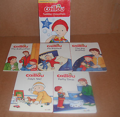 Caillou: Caillou - Toddler Essentials : 5 Books about Growing NEW