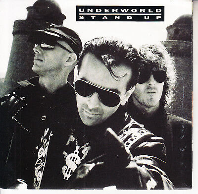 UNDERWORLD  Stand Up PICTURE SLEEVE 7