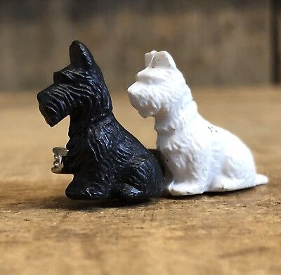Super Cute Vintage Scottish Terrier Dogs Puppies Brooch Great Britain Gift Idea (Dog Costume Ideas)