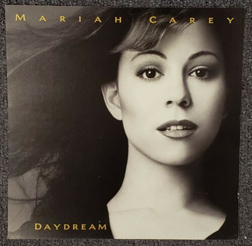 Mariah Carey Daydream 1995 DOUBLE-SIDED CARDBOARD PROMO POSTER FLAT