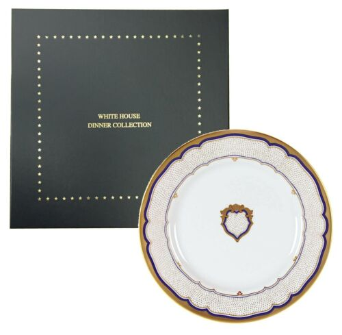 "WOODMERE- Franklin Pierce, White House Dinner Plate Collection (11"" Diameter)"