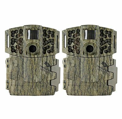 (2) MOULTRIE Game Spy M-880 Gen2 Low Glow Infrared Digital Trail Cameras | 8 MP