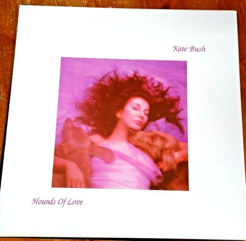 "Kate Bush Original HOUNDS OF LOVE Music Store 12"" Promo Flat Never Used 2 sides"