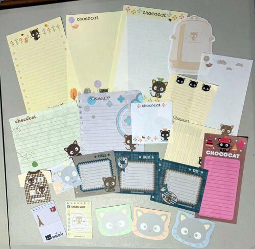 Sanrio CHOCOCAT Stationery / Stationary LOT MEMO Writing Paper 20 Sheets