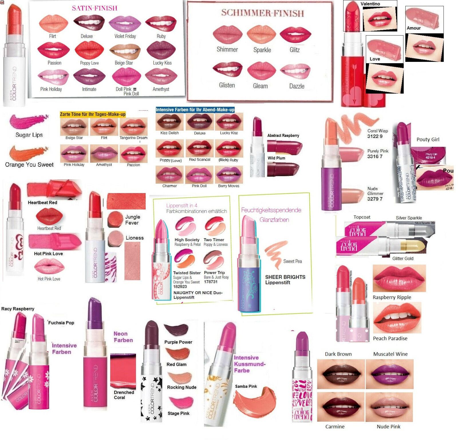 AVON Color Trend Kiss n Go Lippenstift 3,6g mit satter, cremiger Farbe