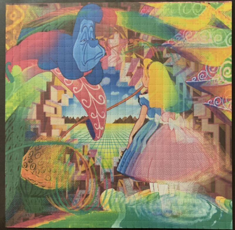 BLOTTER ART - Alice - Wall Of Perception - 900 Squares