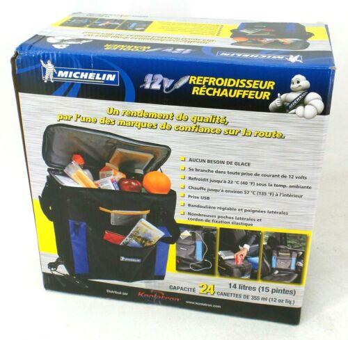 Michelin Koolatron P14-M Portable Hybrid Cooler & Warmer, 12 V Mini Car Fridge